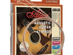 Guitar Quảng Bình, Các loại dây đàn Guitar phổ biến trên thị trường