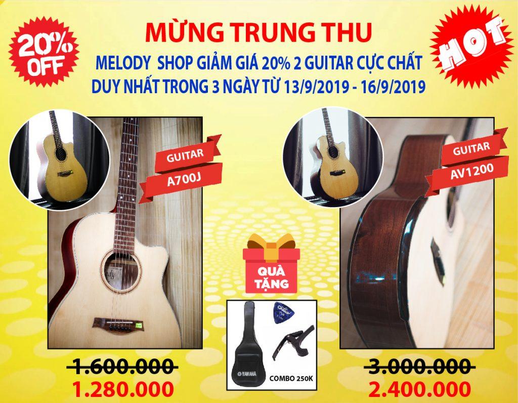 Guitar Quảng Bình, KHUYẾN MÃI NHÂN DỊP TRUNG THU 2019