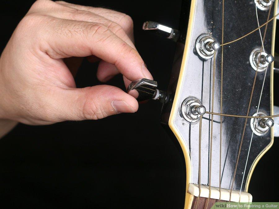 Hướng dẫn thay dây Guitar Acoustic