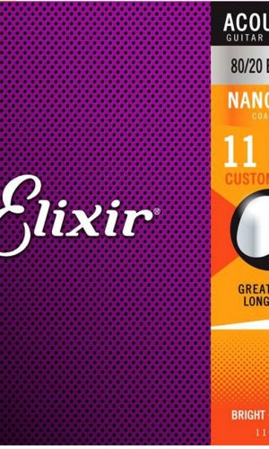 Dây đàn Guitar Acoustic Elixir 11027